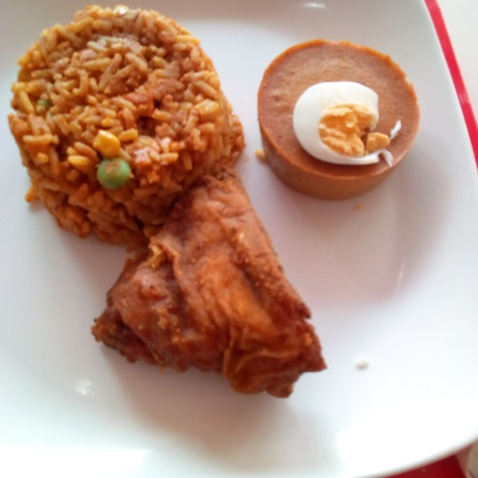 Peppered Jollof and accomplices